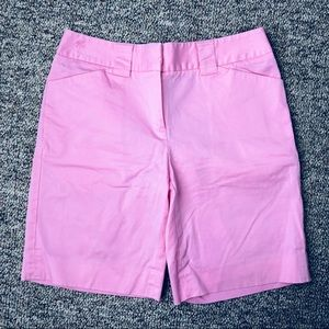 { LILLY PULITZER} Pink Bermuda Shorts